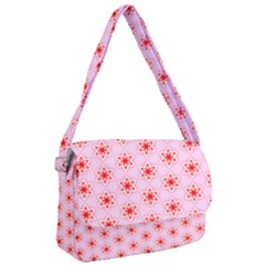 Texture Star Backgrounds Pink Courier Bag