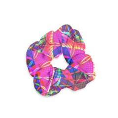 Design Background Concept Fractal Velvet Scrunchie