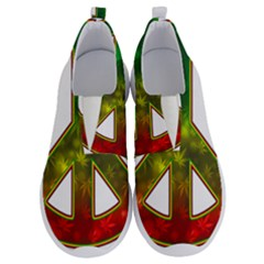 Peace Rastafarian No Lace Lightweight Shoes