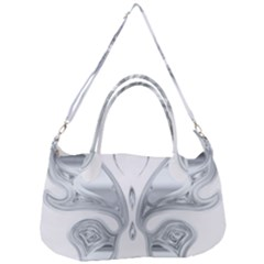 Butterfly Iridescent Chromatic Prismatic Removal Strap Handbag
