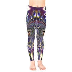 Abstract Art Artwork Fractal Design Art Pattern Kids  Legging by Pakrebo