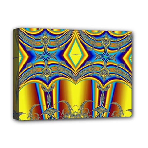 Abstract Art Design Digital Art Deluxe Canvas 16  X 12  (stretched)  by Pakrebo