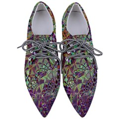 Background Design Art Artwork Pointed Oxford Shoes