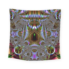 Art Artwork Fractal Digital Art Square Tapestry (small)
