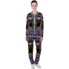 Art Artwork Fractal Digital Art Casual Jacket And Pants Set