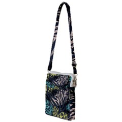 Modern Abstract Animal Print Multi Function Travel Bag by tarastyle