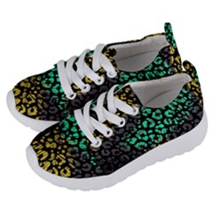 Modern Abstract Animal Print Kids  Lightweight Sports Shoes by tarastyle