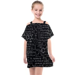 Medical Biology Detail Medicine Psychedelic Science Abstract Abstraction Chemistry Genetics Kids  One Piece Chiffon Dress by Sudhe