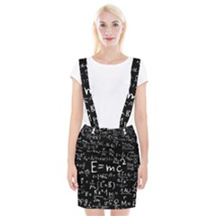 Science Albert Einstein Formula Mathematics Physics Special Relativity Braces Suspender Skirt