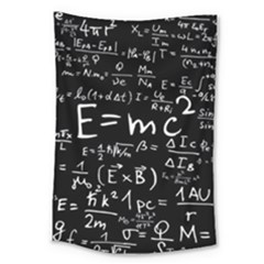 Science Albert Einstein Formula Mathematics Physics Special Relativity Large Tapestry