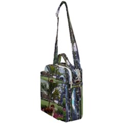 Columbus Commons In Late May  Crossbody Day Bag by Riverwoman