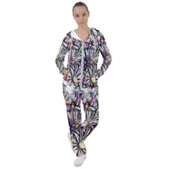 Mixed Flowers Women s Tracksuit by bloomingvinedesign