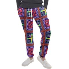 Shapes In Squares Pattern                       Men s Jogger Sweatpants