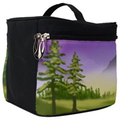 Digital Art Painting Landscape Make Up Travel Bag (big)