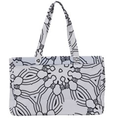 Pattern Design Pretty Cool Art Canvas Work Bag by Wegoenart