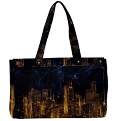 Architecture Buildings City Canvas Work Bag by Wegoenart