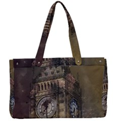 London Big Ben Building Canvas Work Bag by Wegoenart