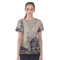 London Westminster Bridge Building Women s Cotton Tee