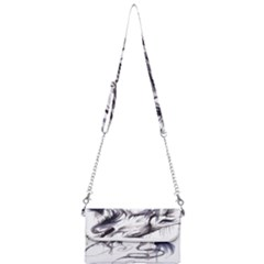 Tattoo Ink Flash Drawing Wolf Mini Crossbody Handbag