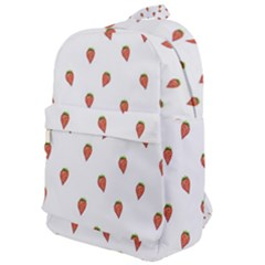 Cartoon Style Strawberry Pattern Classic Backpack by dflcprintsclothing