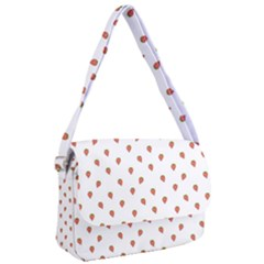 Cartoon Style Strawberry Pattern Courier Bag by dflcprintsclothing