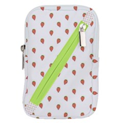 Cartoon Style Strawberry Pattern Belt Pouch Bag (small)