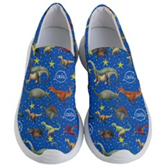 Dinosaurs Pattern Women s Lightweight Slip Ons by NiOng
