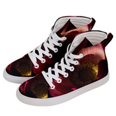 Zappwaits Water Lily Men s Hi Top Skate Sneakers by zappwaits