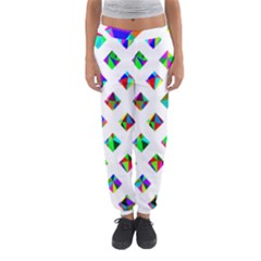 Rainbow Lattice Women s Jogger Sweatpants by Mariart