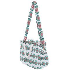Christmas Decoration Colorful Rope Handles Shoulder Strap Bag by Alisyart