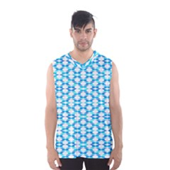 Fabric Geometric Aqua Crescents Men s Sportswear