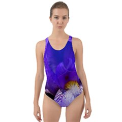Zappwaits Flower Cut-Out Back One Piece Swimsuit