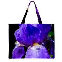 Zappwaits Flower Zipper Large Tote Bag