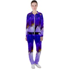 Zappwaits Flower Casual Jacket and Pants Set