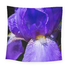 Zappwaits Flower Square Tapestry (Large)
