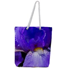 Zappwaits Flower Full Print Rope Handle Tote (Large)