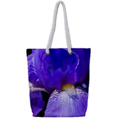 Zappwaits Flower Full Print Rope Handle Tote (Small)