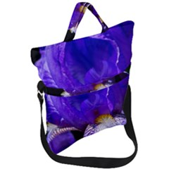 Zappwaits Flower Fold Over Handle Tote Bag