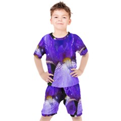 Zappwaits Flower Kids  Tee and Shorts Set