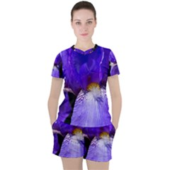 Zappwaits Flower Women s Tee and Shorts Set