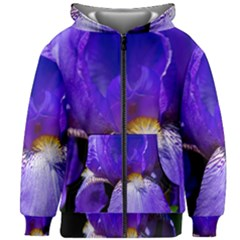 Zappwaits Flower Kids  Zipper Hoodie Without Drawstring