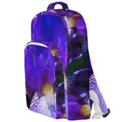 Zappwaits Flower Double Compartment Backpack