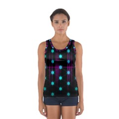 Sound Wave Frequency Sport Tank Top
