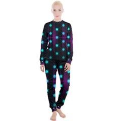 Sound Wave Frequency Women s Lounge Set