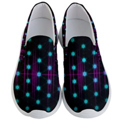 Sound Wave Frequency Men s Lightweight Slip Ons