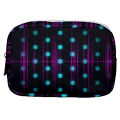 Sound Wave Frequency Make Up Pouch (small) by HermanTelo