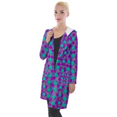 Happy Days Of Free  Polka Dots Decorative Hooded Pocket Cardigan by pepitasart