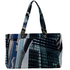 Architecture Frankfurt Reflection Canvas Work Bag by Wegoenart