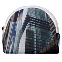 Architecture Frankfurt Reflection Horseshoe Style Canvas Pouch