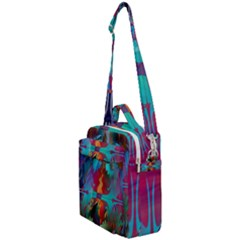 Background Sci Fi Fantasy Colorful Crossbody Day Bag
